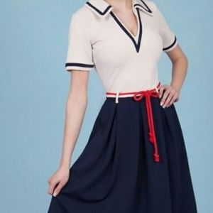 Tatyana nautical dress